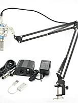 economico -KEBTYVOR BM-800 Con filoMicrophoneSet Microfono a condensatore