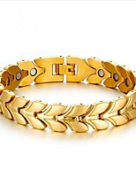 cheap -Men's Chain Bracelet , Fashion Titanium Geometric Jewelry Gift Daily