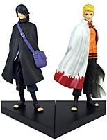 economico -Figure Anime Azione Ispirato da Naruto Sasuke Uchiha 18 CM Giocattoli di modello Bambola giocattolo