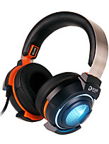 cheap -Dareu EH735  Headset headphones 7.1 audio channel audio Light weight 50mm voice unit