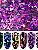cheap -6pcs Art Deco / Retro Sequins Multi-Color Nail Dotting Tool