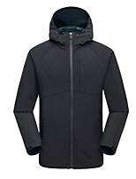 cheap -Men's Hiking Fleece Jacket Outdoor Keep Warm Windproof Top Single Slider Running/Jogging Casual Camping