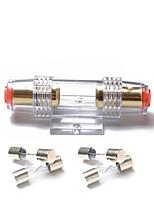 Недорогие -аудио 30-кратный встроенный предохранитель agu 4/8 калибровочный держатель предохранителя agu позолоченный с 4-мя предохранителями 30a