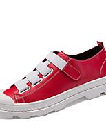 economico -Da uomo Scarpe Tulle Finta pelle Inverno Autunno Comoda Sneakers per Sportivo Casual Bianco Nero Rosso