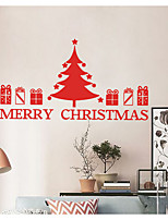 Noël Stickers muraux Autocollants avion Autocollants muraux décoratifs,Vinyle Décoration d'intérieur Calque Mural Mur