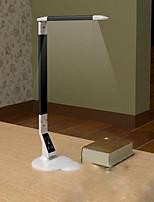 Недорогие -Простой Защите для глаз Настольная лампа Назначение Пластик 220 Вольт Черный Серебряный