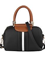 cheap -Women Bags PU Shoulder Bag Zipper for Casual Office & Career All Season Wine Brown Red Black Green