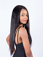 cheap -360 Lace Frontal Wig Pre Plucked With Baby Hair Straight Peruvian Wig Lace Front Human Hair Wigs For Black Women Non Remy
