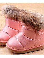 cheap -Girls' Shoes PU Winter Fall Comfort Snow Boots Combat Boots Boots Booties/Ankle Boots for Casual Pink Fuchsia White