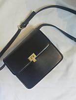 cheap -Women Bags PU Shoulder Bag Buttons Zipper for Casual All Season Brown Black
