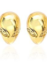 cheap -Mask Golden Cufflinks Copper Classic Fashion Club Festival Men's Costume Jewelry