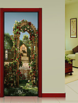 Romance Landscape Wall Stickers 3D Wall Stickers Decorative Wall Stickers,Vinyl Home Decoration Wall Decal Wall