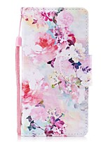 cheap -Case For Samsung Galaxy S8 Plus S8 Card Holder Wallet with Stand Flip Magnetic Pattern Full Body Flower Hard PU Leather for S8 Plus S8 S7