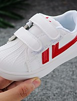 cheap -Girls' Shoes PU Spring Fall Comfort Sneakers Magic Tape for Casual Green Red Black