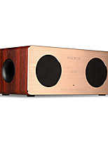 cheap -W1 Bluetooth Speaker Bluetooth 4.0 3.5mm AUX Bookshelf Speaker Dark Red Brown