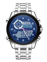 cheap -Men's Kid's Casual Watch Fashion Watch Wrist watch Japanese Quartz Calendar / date / day Chronograph Luminous Casual Watch Stainless Steel