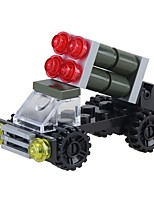 abordables -Bloques de Construcción Vehículo militar Juguetes Vehículos Alivio del estrés y la ansiedad Juguetes de descompresión Interacción