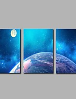 cheap -Stretched Canvas Print Modern,Three Panels Canvas Horizontal Panoramic Print Wall Decor For Home Decoration