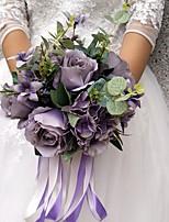 Недорогие -Свадебные цветы Букеты Свадьба Вечерние Другие материалы 28 см