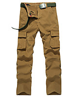 Men's Hiking Cargo Pants Outdoor Wearable Fitness Cross Country Back Country Winter Pants / Trousers Outdoor Exercise Multisport
