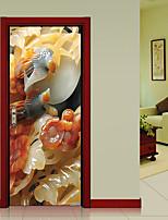 Мода Пейзаж Наклейки 3D наклейки Декоративные наклейки на стены,Винил Украшение дома Наклейка на стену Стена