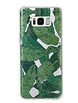 preiswerte -Hülle Für Samsung Galaxy S8 Plus S8 IMD Muster Rückseitenabdeckung Baum Glänzender Schein Weich TPU für S8 Plus S8 S7 edge S7
