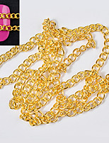cheap -50CM Fashion Punk Style Metal Chain Nail Art Decoration