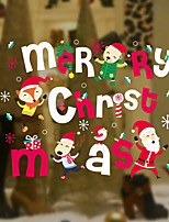 Christmas Words & Quotes Wall Stickers Plane Wall Stickers Decorative Wall Stickers,Vinyl Home Decoration Wall Decal Window Wall