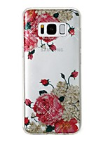 cheap -Case For Samsung Galaxy S8 Plus S8 IMD Pattern Back Cover Flower Glitter Shine Soft TPU for S8 Plus S8 S7 edge S7