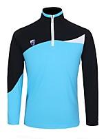 economico -Per uomo Manica lunga Golf T-shirt Allenamento Traspirabilità Golf