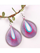 cheap -Women's Drop Earrings Bohemian Oversized Cord Alloy Oval Jewelry Party Daily
