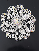 cheap -Women's Jewelry Set Brooches Simple Fashion Wedding Daily Silver Plated Brooch