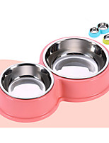 Dog Bowls & Water Bottles Pet Bowls & Feeding Durable Pink Blue Green