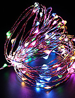 cheap -100 LEDs 10M String Light Warm White Cold White Purple Multicolor Red Blue Yellow USB Powered