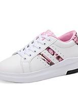 economico -Da donna Scarpe Tulle Primavera Autunno Comoda Suole leggere Sneakers Polacche Punta tonda per Casual Rosa e bianco Bianco/nero White/Blue