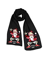 cheap -Inspired by Cosplay Cosplay Anime Cosplay Costumes Cosplay Accessories Solid Scarf For Unisex