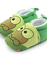 Недорогие -Дети обувь Ткань Весна Осень Удобная обувь Обувь для малышей Пинетки На плокой подошве На эластичной ленте для Повседневные Зеленый