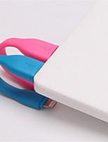 Eclairage Adaptateur de câble USB Portable Pour iPhone 10 cm Plastique