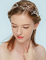 cheap -Women's Headband,Simple Classic Imitation Pearl All Seasons White