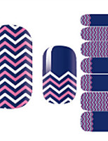 cheap -1 Nail Decals Nail Sticker Multi-Color Nail Art Design Decoration