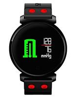 Недорогие -Смарт-браслет Счетчики калорий Педометр Измерение кровяного давления Контроль APP Сенсорный контроль Импульсный трекер Педометр Датчик