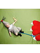 preiswerte -Baby Jungen Kleidungs Set Alltag Solide Baumwolle Ganzjährig Ärmellos Einfach Grau