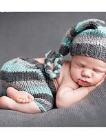 cheap -Baby Boys' Daily Print Clothing Set,Cotton All Seasons Simple Sleeveless Blue
