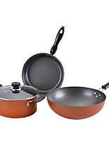 economico -Ghisa Plastica Piatto Pan Pot multiuso,9/5