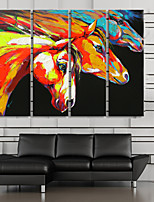 Canvas Print Modern,Four Panels Canvas Vertical Print Wall Decor For Home Decoration