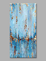 cheap -Hand-Painted Abstract Vertical,Modern Canvas Oil Painting Home Decoration One Panel