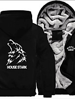 House Stark Ugly Christmas Sweater / Sweatshirt Male Festival / Holiday Halloween Costumes White White Letter