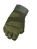 Спортивные перчатки Перчатки для велосипедистов Пригодно для носки Дышащий Без пальцев Нетканая Нейлоновое волокно Горные велосипеды