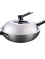 cheap -Other Cast Iron Flat Pan Wok,30*9