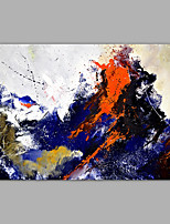 cheap -Hand-Painted Abstract HorizontalModern Canvas Oil Painting Home Decoration One Panel